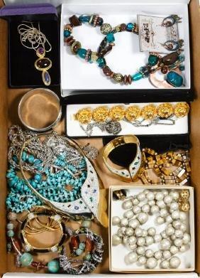 Signed Costume Jewelry Assortment