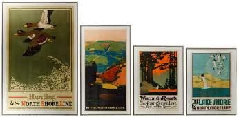 North Shore Line Poster Reprints