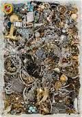 Rhinestone and Costume Jewelry Assortment