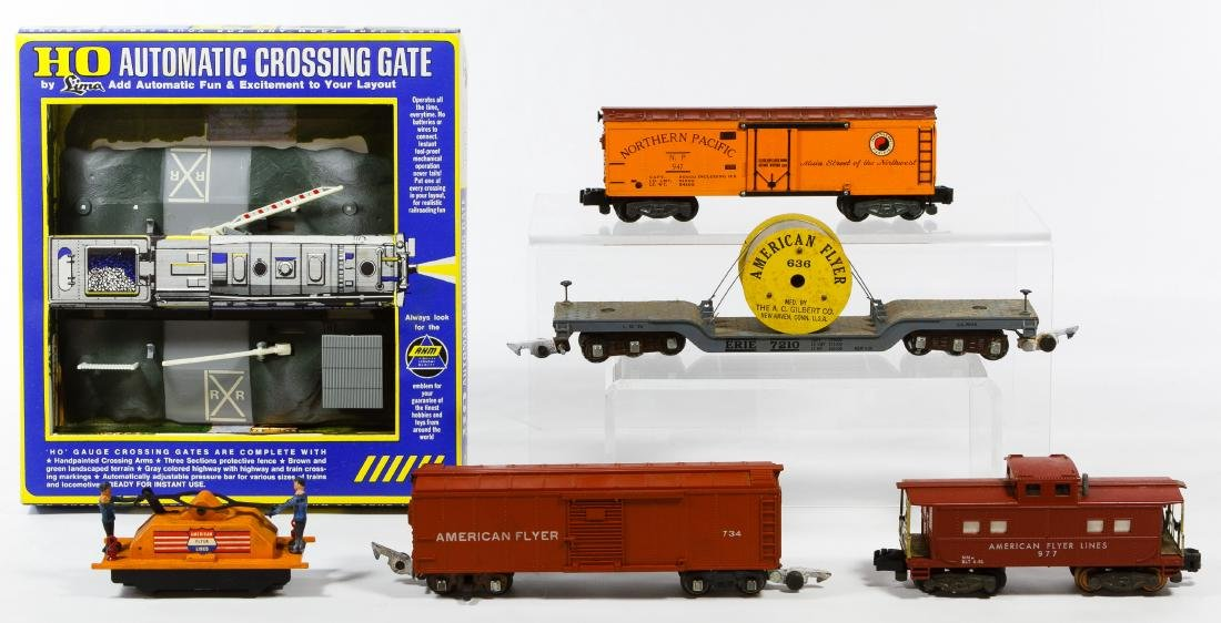 American Flyer Toy Model Train Assortment