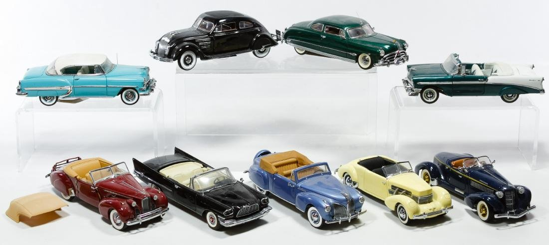 Franklin Mint Die Cast Vehicle Assortment