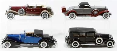 Franklin Mint Die Cast Vehicle Assortment