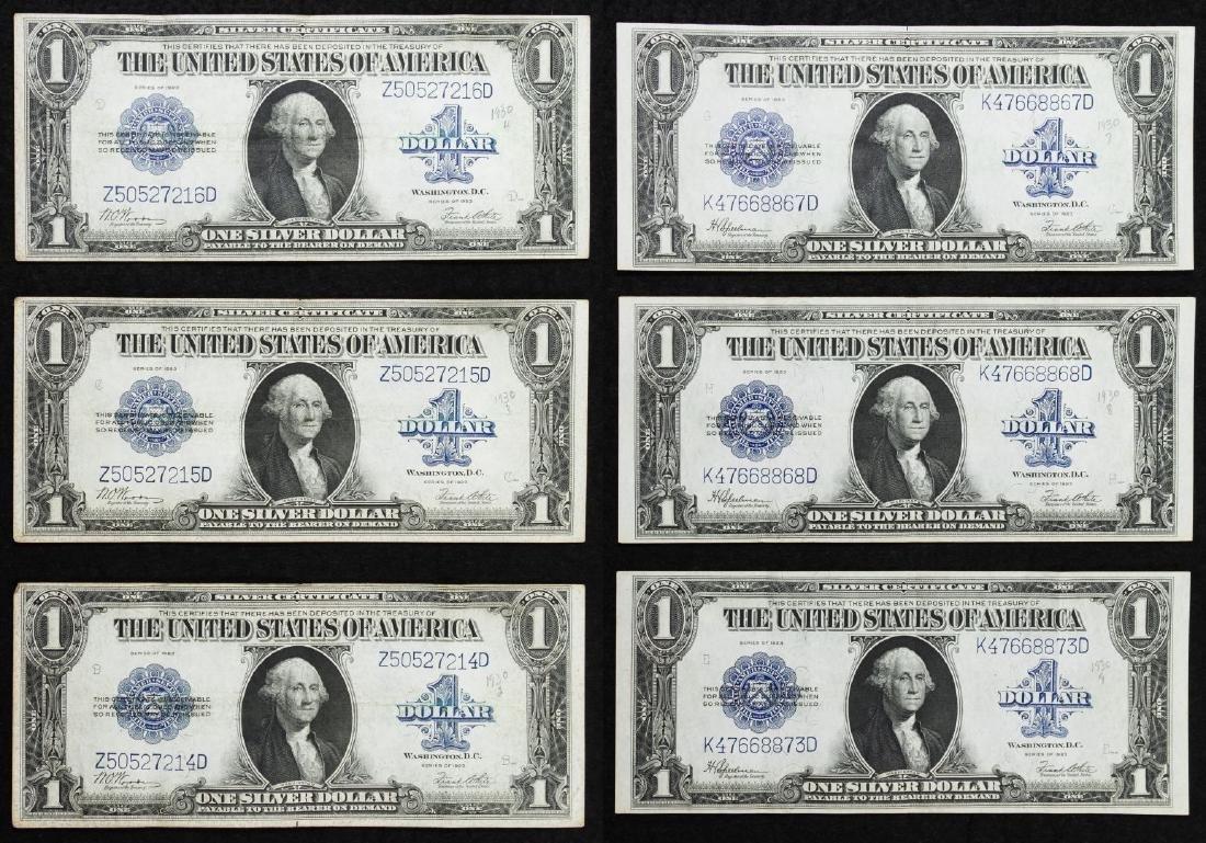 1923 $1 Silver Certificates