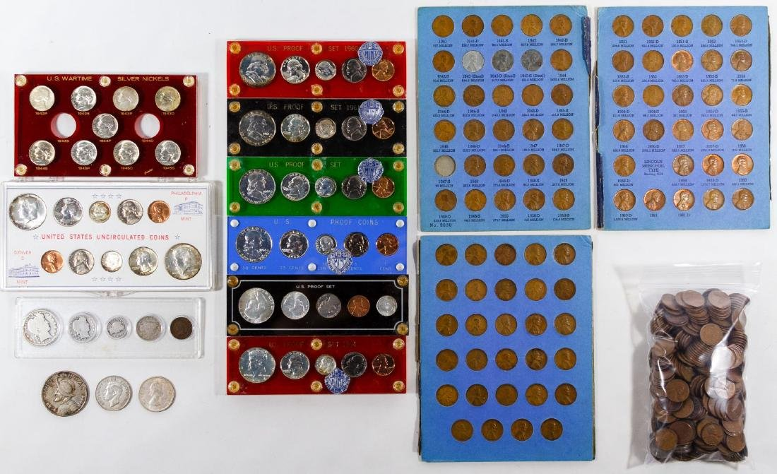 US and World Silver Coin Assortment