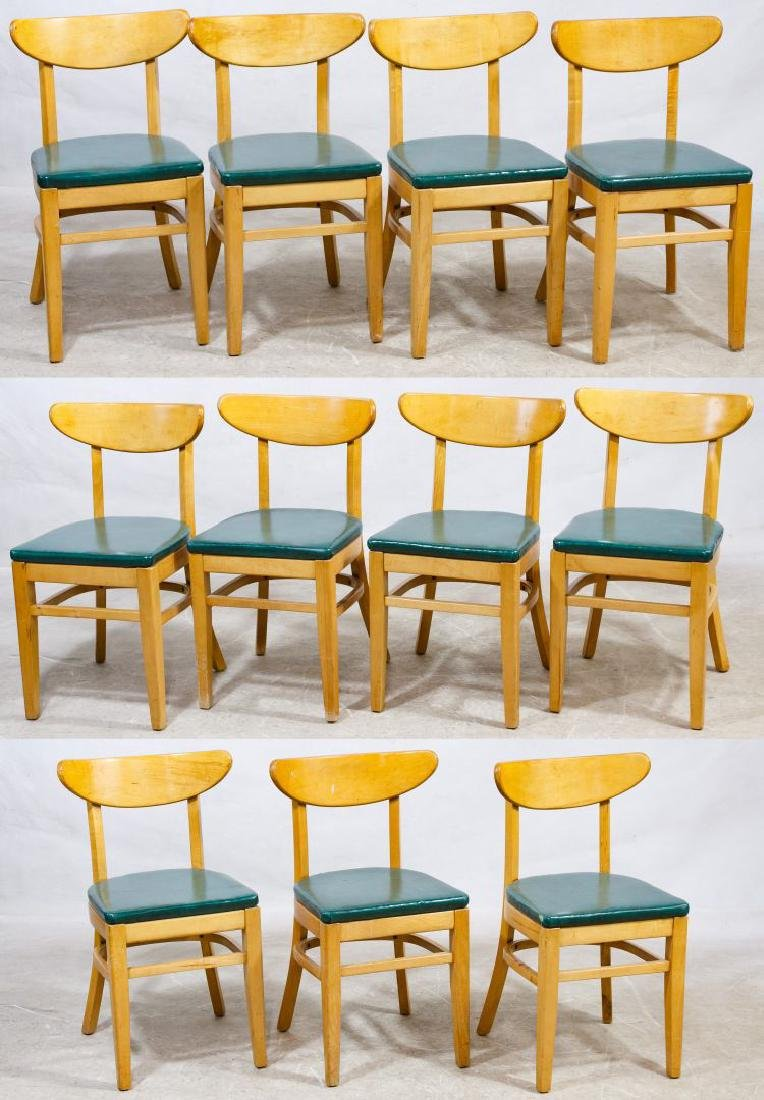 MCM Maple Side Chairs by Bianco