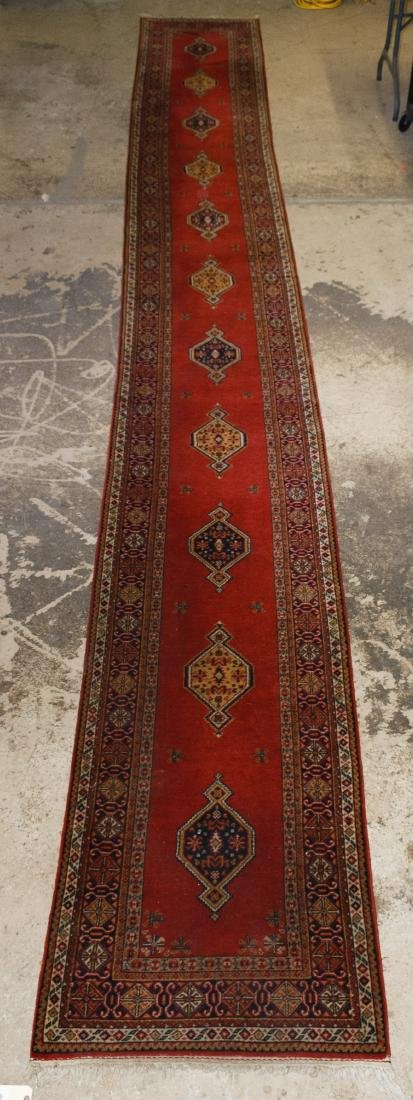 Persian Heriz Wool Runner Rug