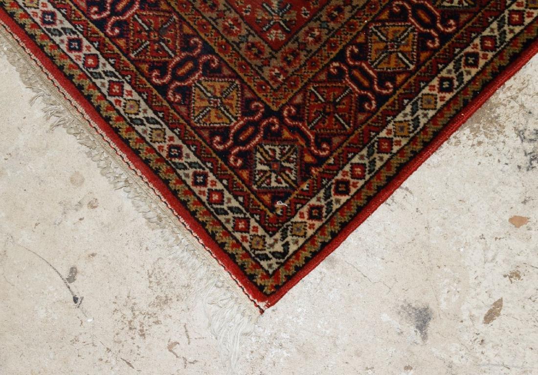 Persian Heriz Wool Runner Rug - 3