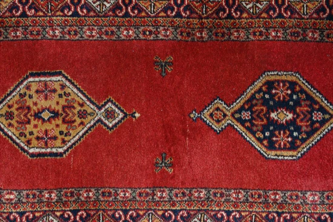 Persian Heriz Wool Runner Rug - 5