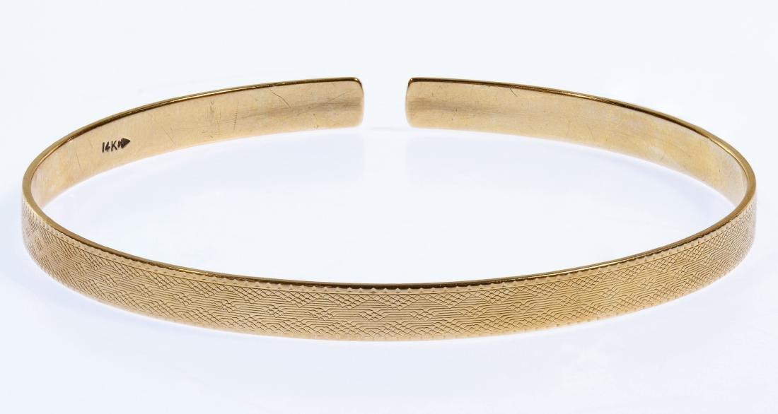 14k Gold Cuff Bracelet