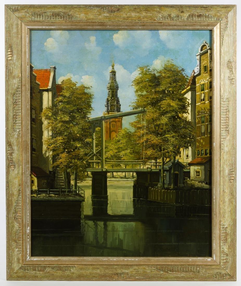 D. Verwey (Netherlands, 20th Century) Oil on Canvas