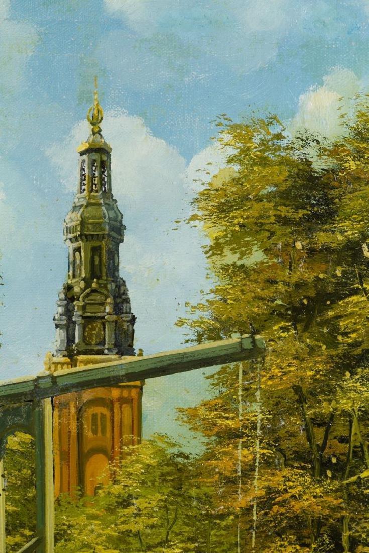 D. Verwey (Netherlands, 20th Century) Oil on Canvas - 2