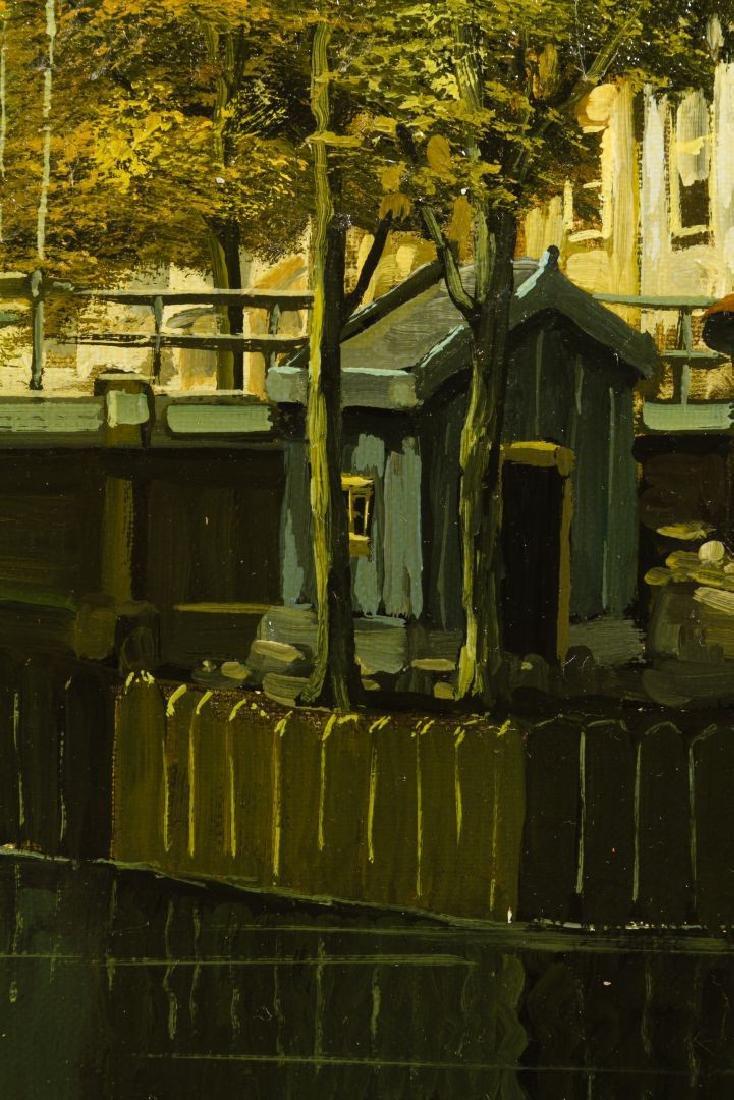 D. Verwey (Netherlands, 20th Century) Oil on Canvas - 3