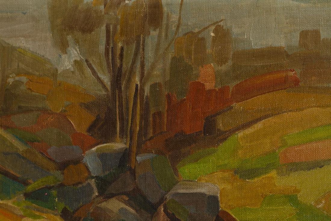 Gunnar Wallentin (Swedish, 1905-1997) Oil on Board - 2