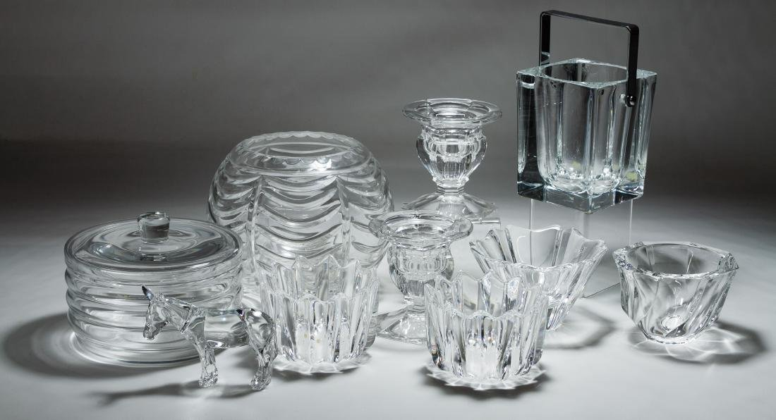 Baccarat, Orrefors and Tiffany Crystal Assortment