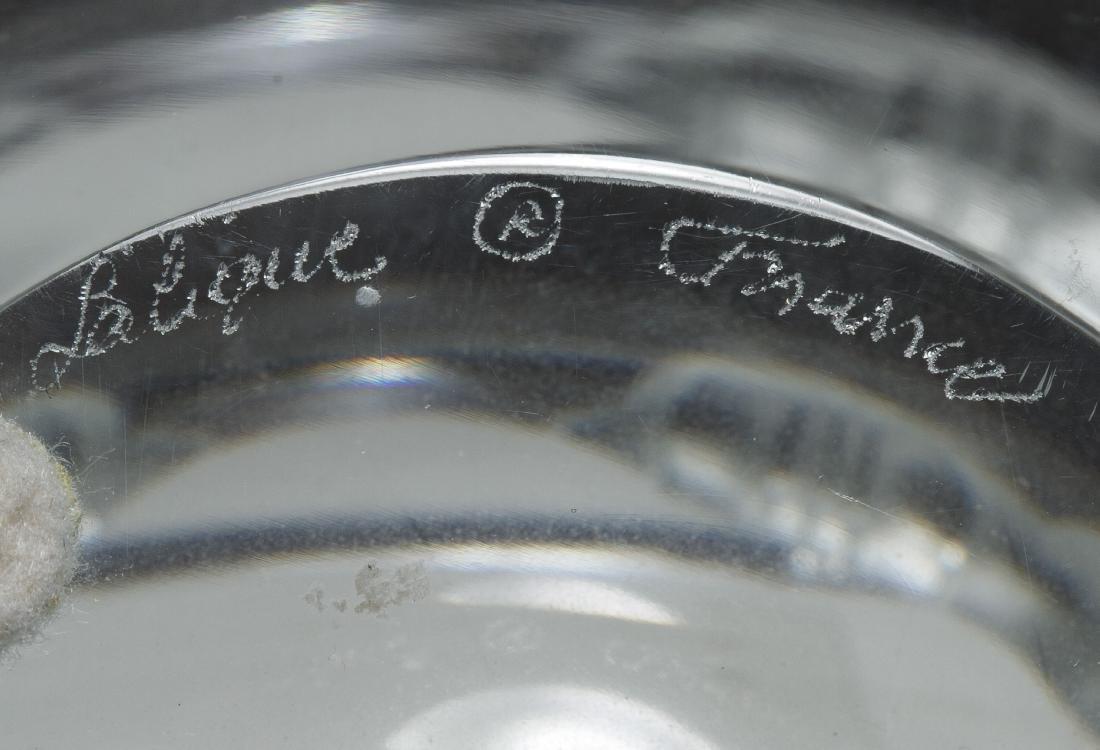 Lalique Crystal 'Athena' Bowl - 2