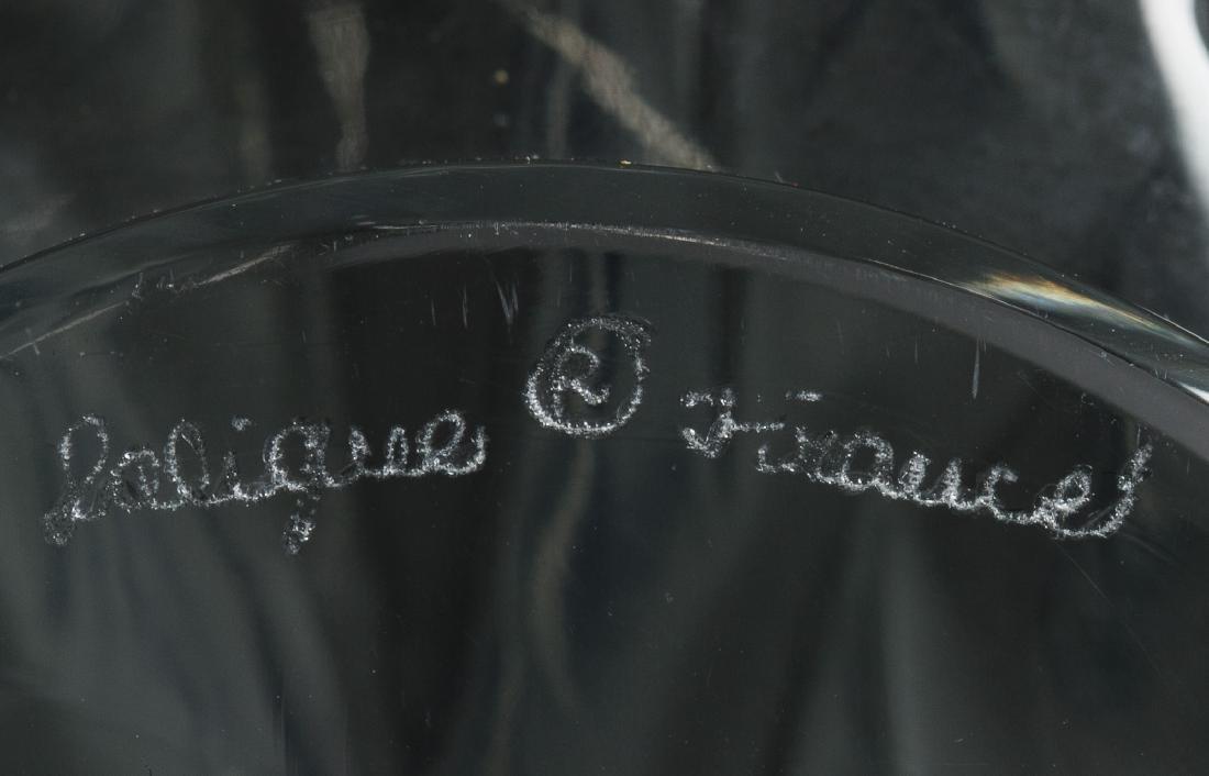 Lalique Crystal 'Tete de Coq' Rooster Head Figurine - 3