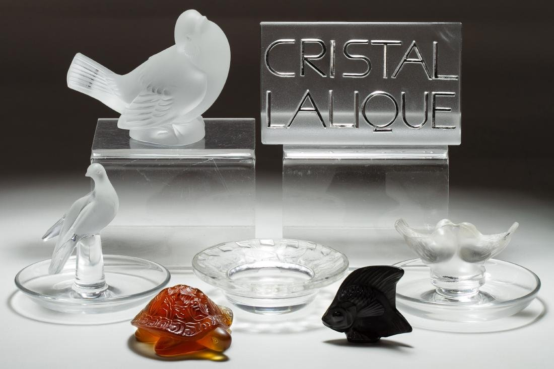 Lalique Crystal Animal Assortment