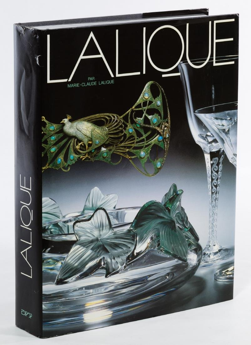 Lalique Signed Reference Book