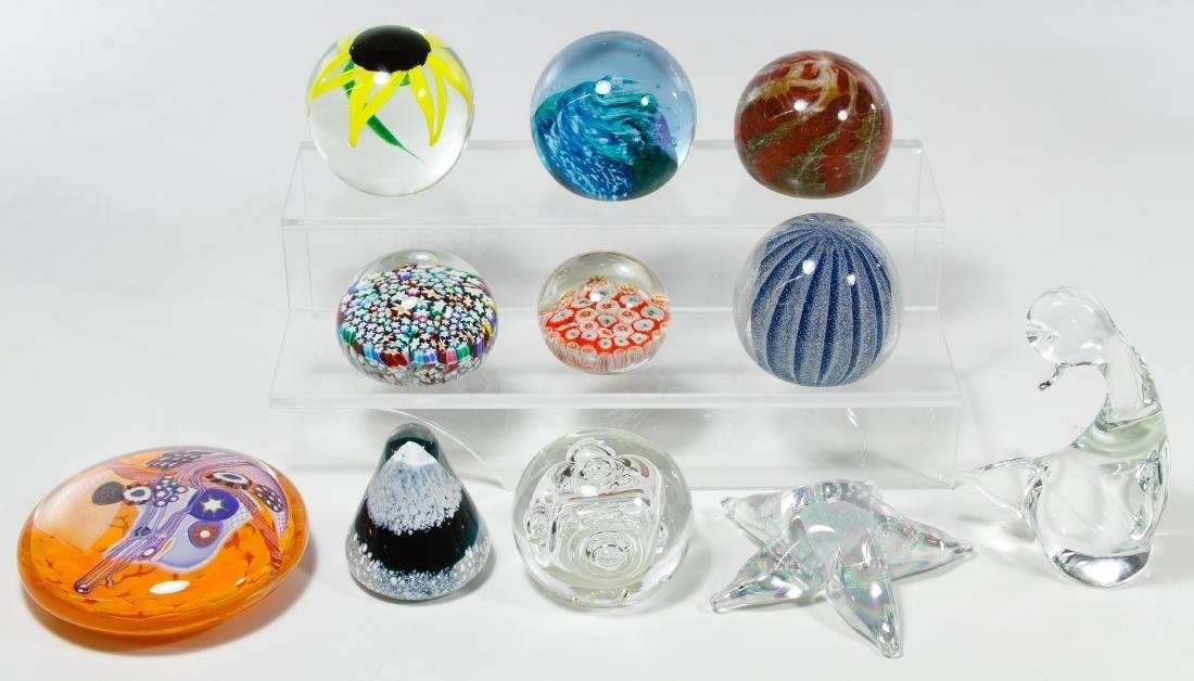 Glass Paperweight Assortment