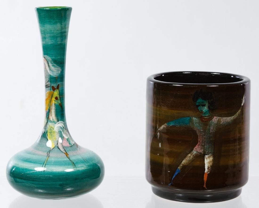 Polia Pillin (Polish, 1909-1992) Ceramic Vases
