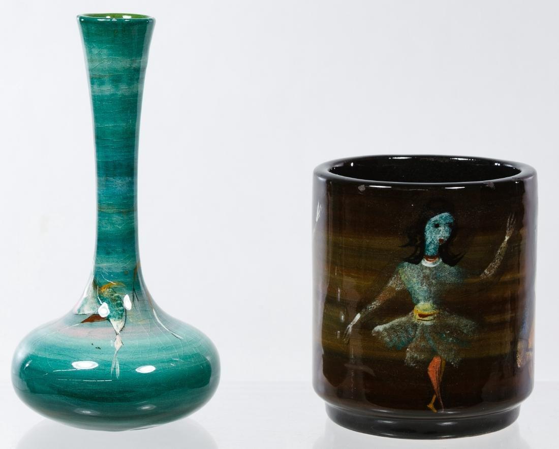 Polia Pillin (Polish, 1909-1992) Ceramic Vases - 2