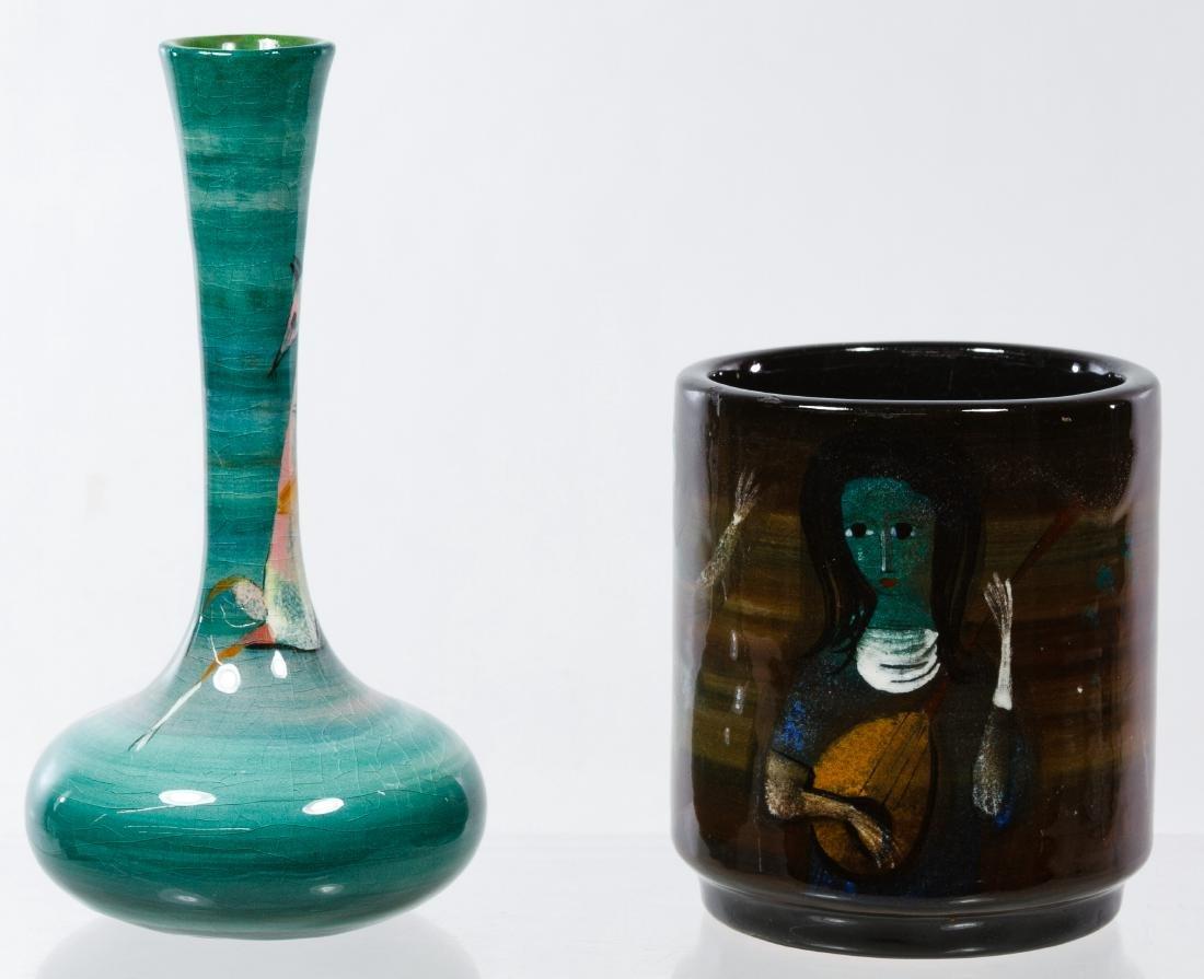 Polia Pillin (Polish, 1909-1992) Ceramic Vases - 3