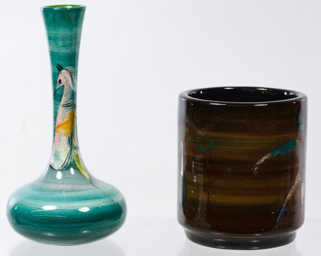 Polia Pillin (Polish, 1909-1992) Ceramic Vases - 4