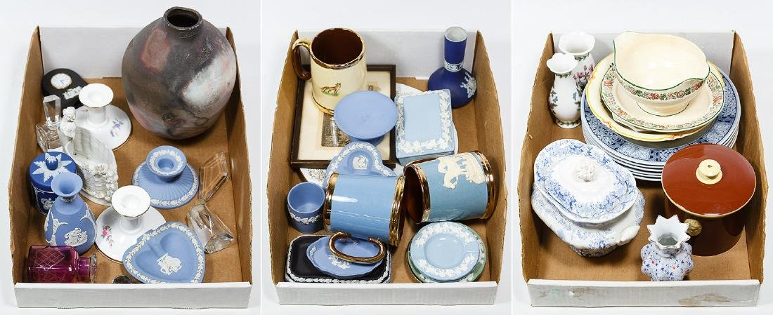 English, Irish and German Ceramic Assortment