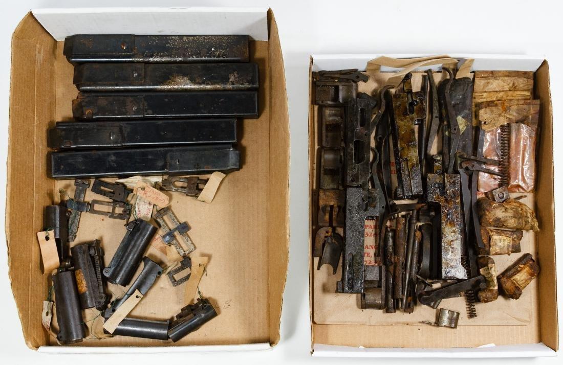 World War II US Gun Part Assortment