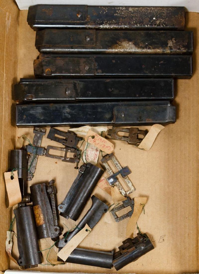 World War II US Gun Part Assortment - 2
