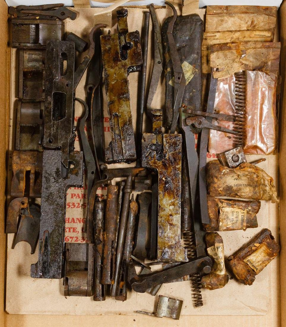 World War II US Gun Part Assortment - 3