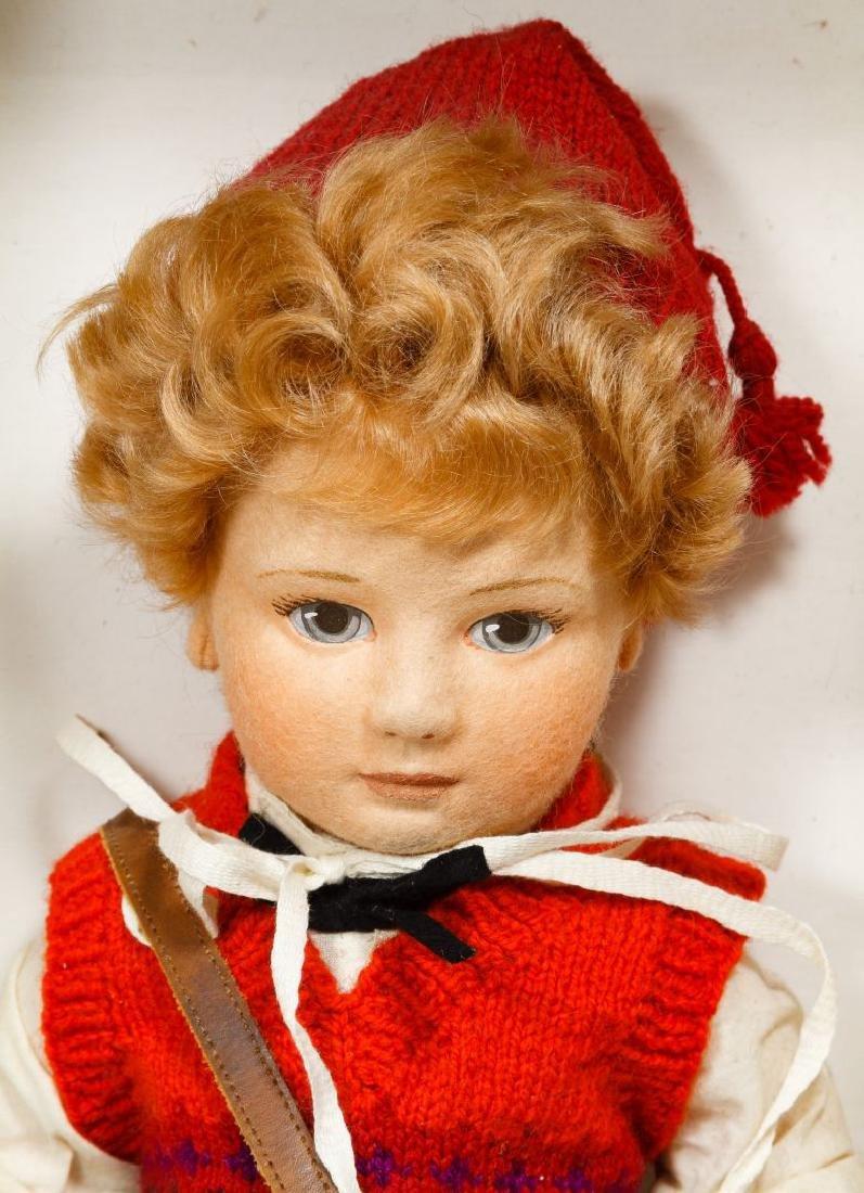 R John Wright 'Scott' Little Children Series II Doll - 2