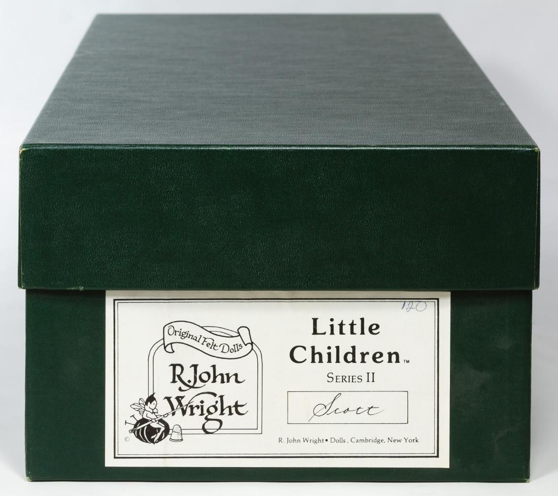 R John Wright 'Scott' Little Children Series II Doll - 3