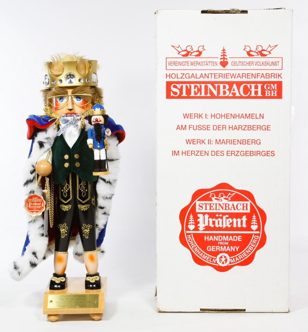 German Steinbach 'Jubilee King' Nutcracker