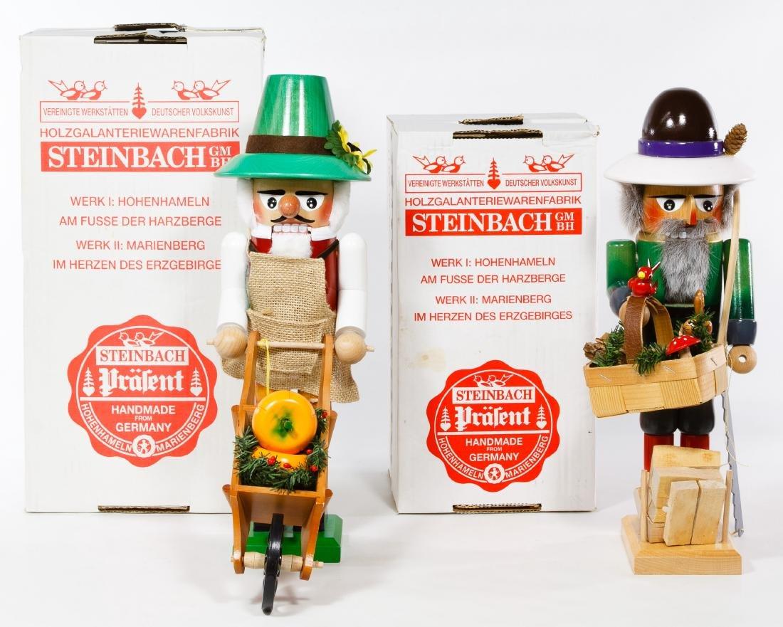 German Steinbach Wooden Nutcrackers