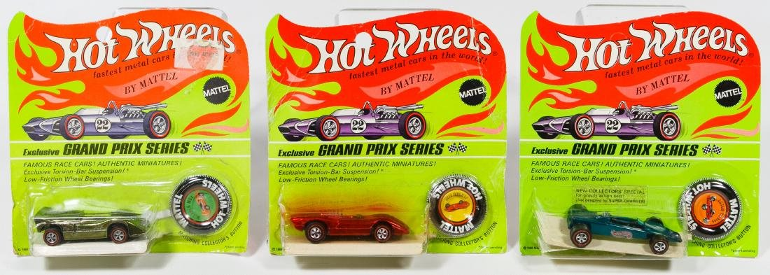 Mattel Hot Wheels Red Line 'Grand Prix Series' Car