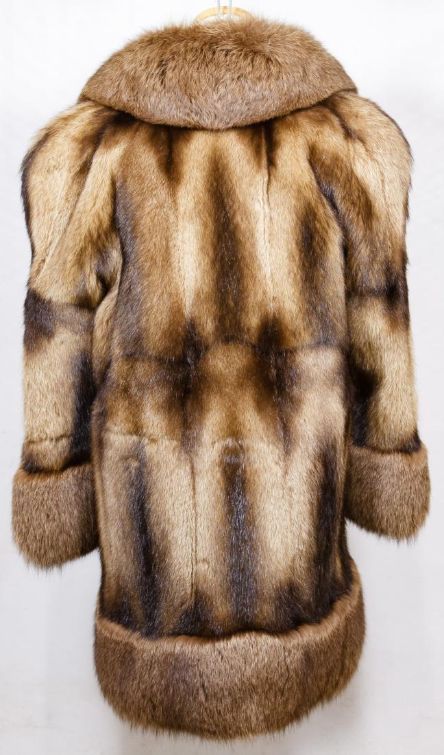 Beaver and Fox Fur Coat - 2