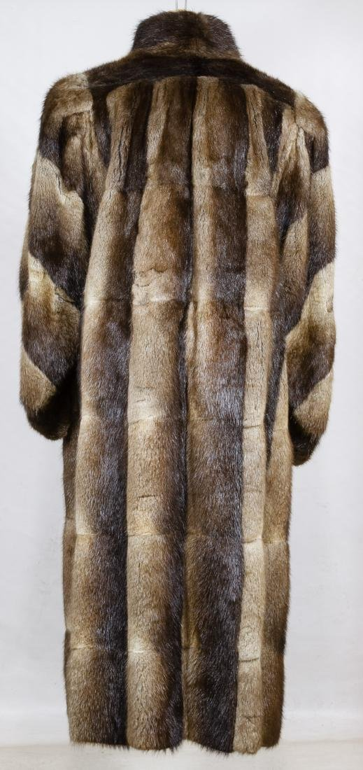 Pieced Beaver Fur Coat by Dion Furs - 2