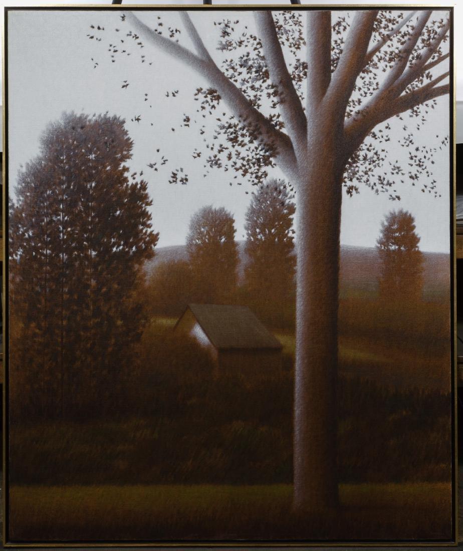 Robert Kipniss (American, b.1931) 'Eastern Hills' Oil