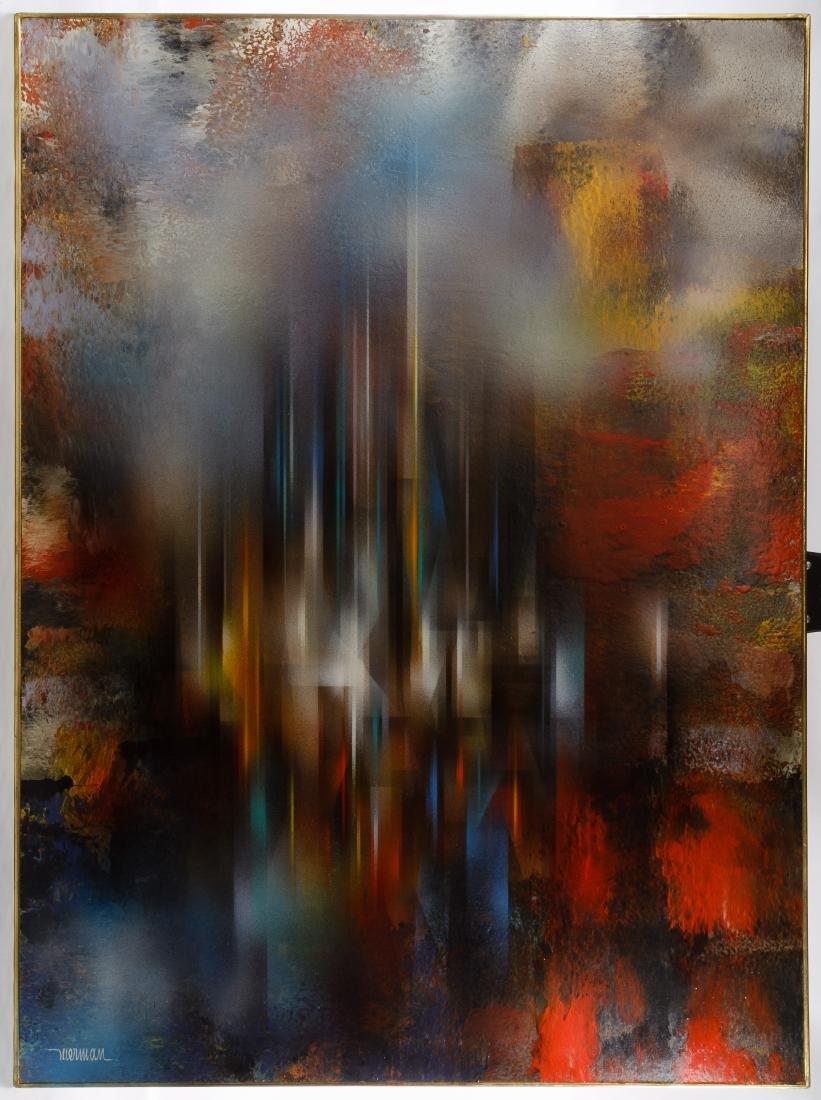 Leonardo Nierman (Mexican, b.1932) 'Crystalline City'