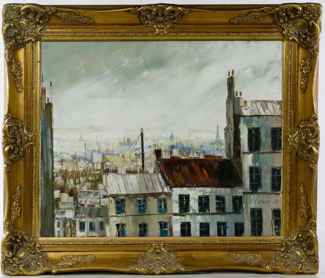 Marko Stupar (French, b.1936) Oil on Canvas