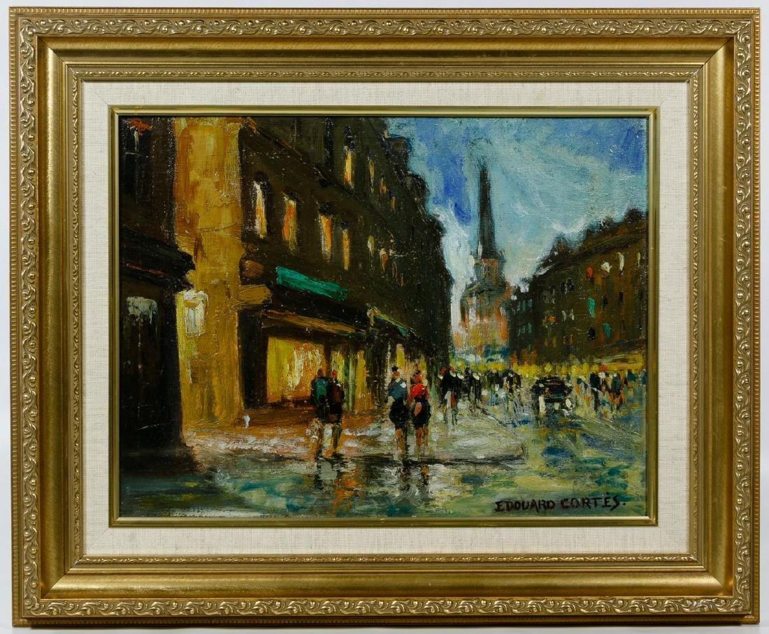(After) Edouard Cortes (French, 1882-1969) Oil on