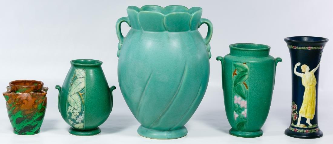 Weller Pottery Vase Assortment