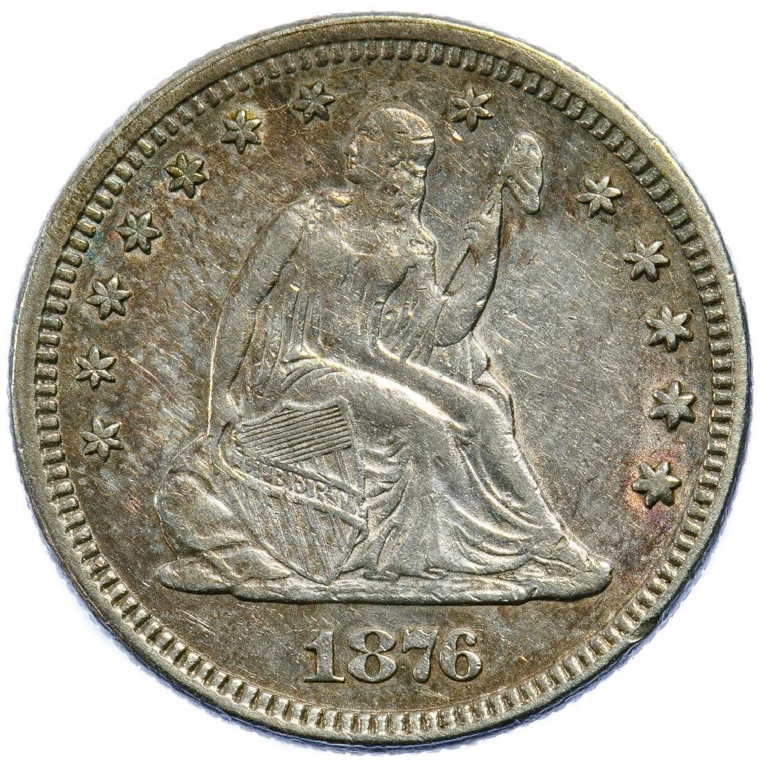 1876 25c AU
