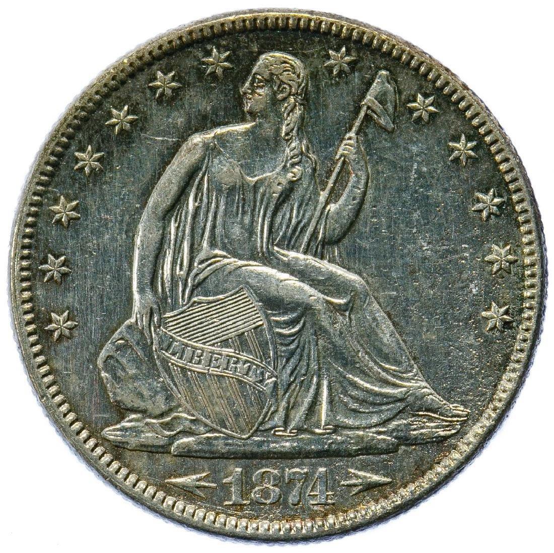 1874 50c AU Details