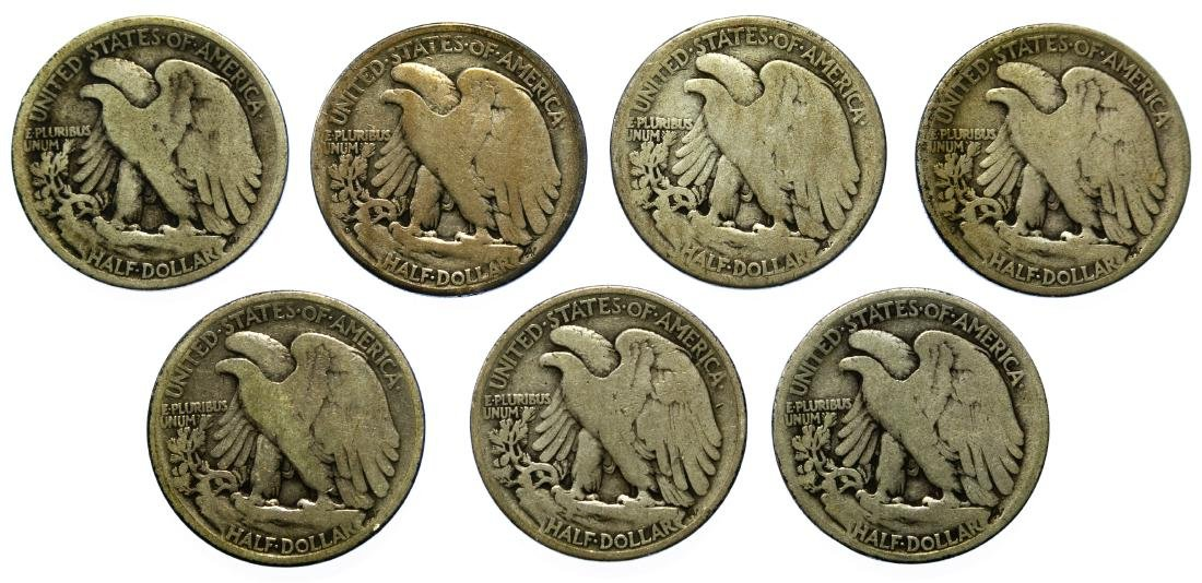 Walking Liberty 50c Assortment - 2