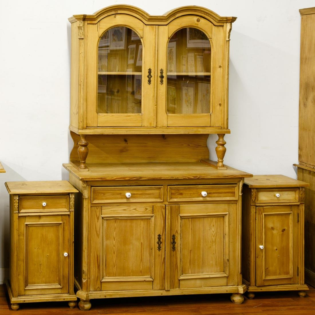 French Country Pine Cabinets