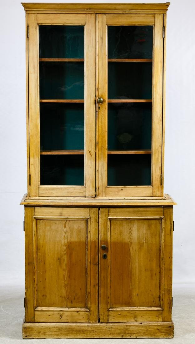 French Pine Cabinet
