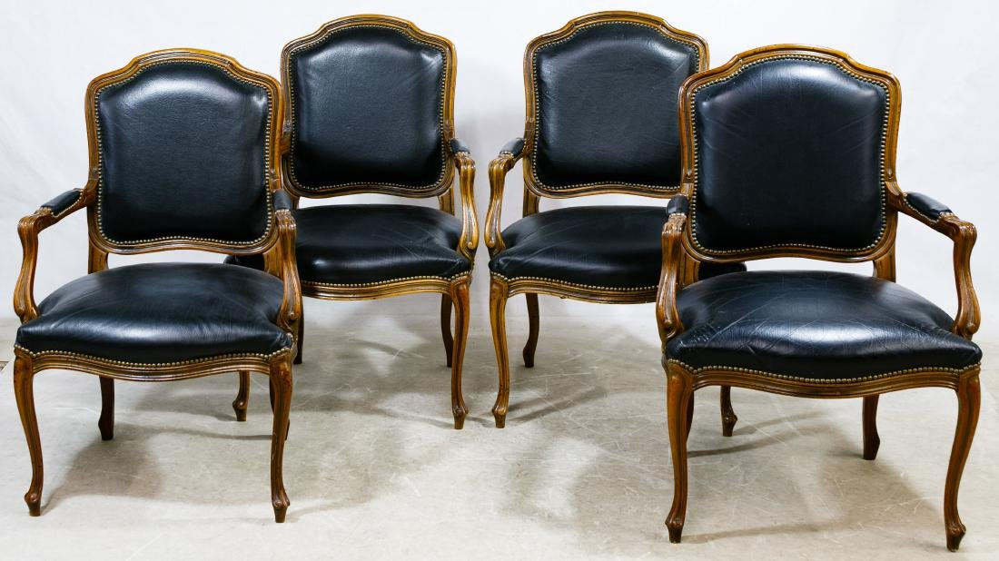 Louis XV Chairs by Chateau D'Ax Italy