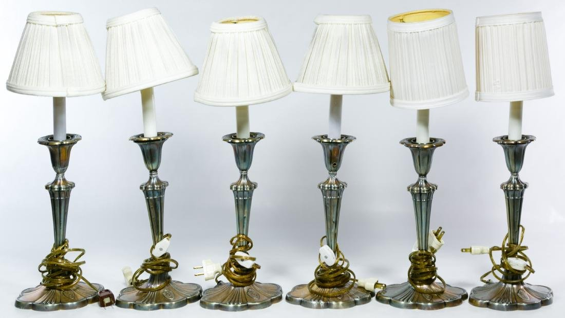Table Lamp, Wall Sconce and Decorative Brass Assortment